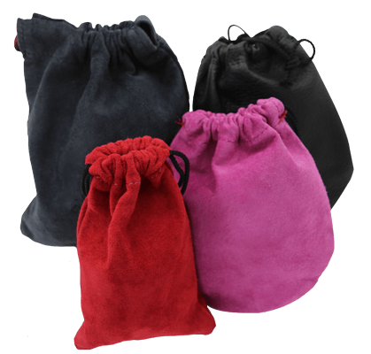 Assortment of leather pouches