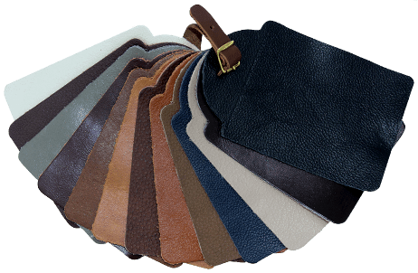 Leather style swatches